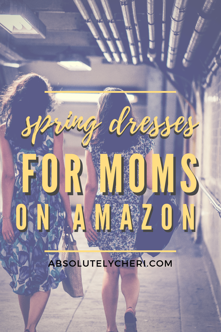 My boys turn 5 and 3 this summer. It's not getting any easier to take them shopping with me, especially to buy clothes for myself. This season I'm turning to Amazon to buy some cute new dresses to wear this summer! #momstyle #momfasion #clothesformom