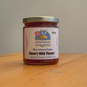 14oz Absolutely Delightful Arizona Honey Desert Wildflower