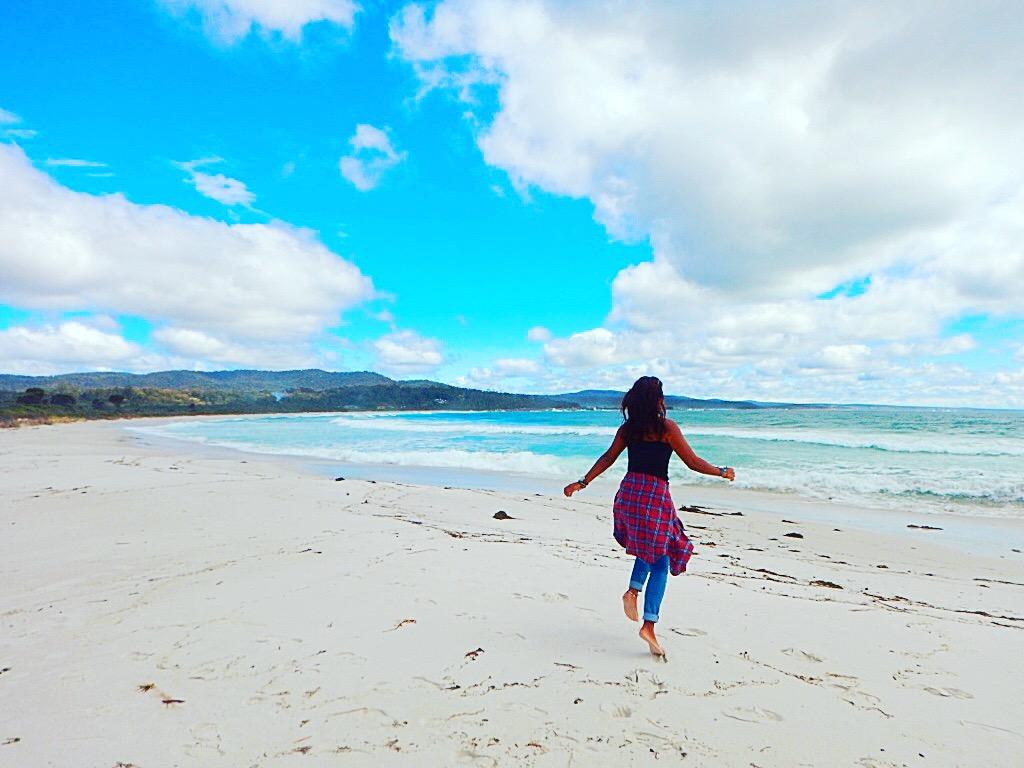 Beach Tasmania Australia