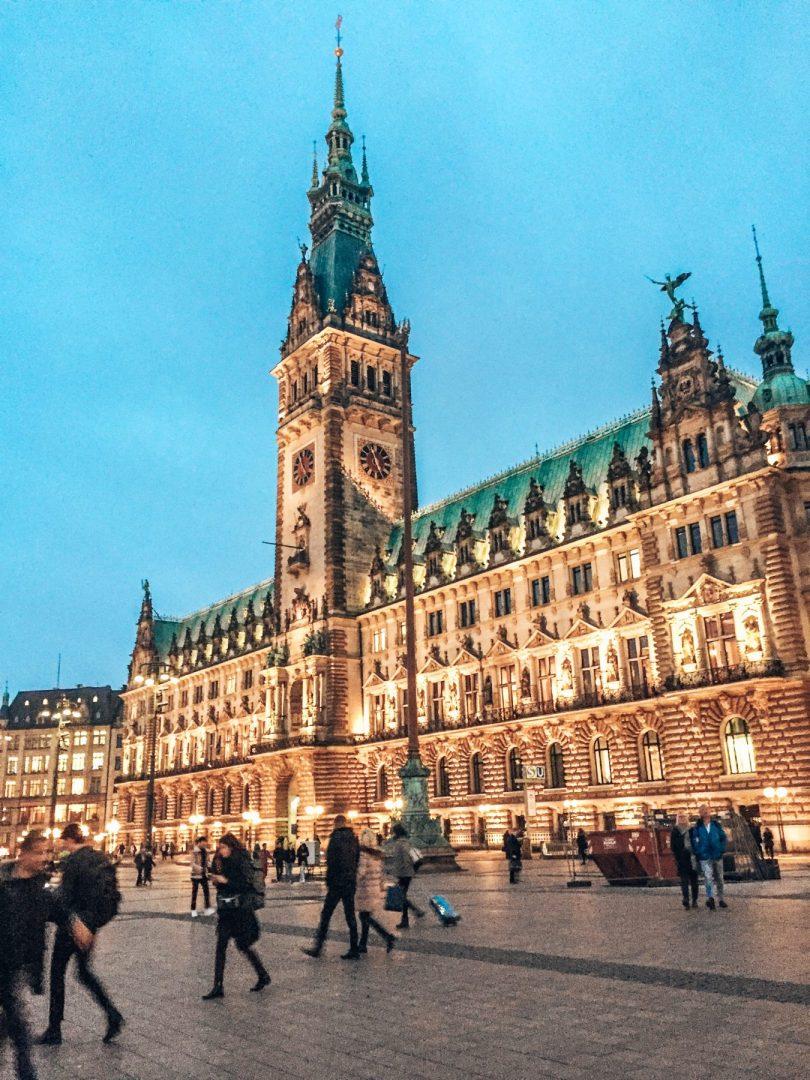 Winter getaways travel to Hamburg