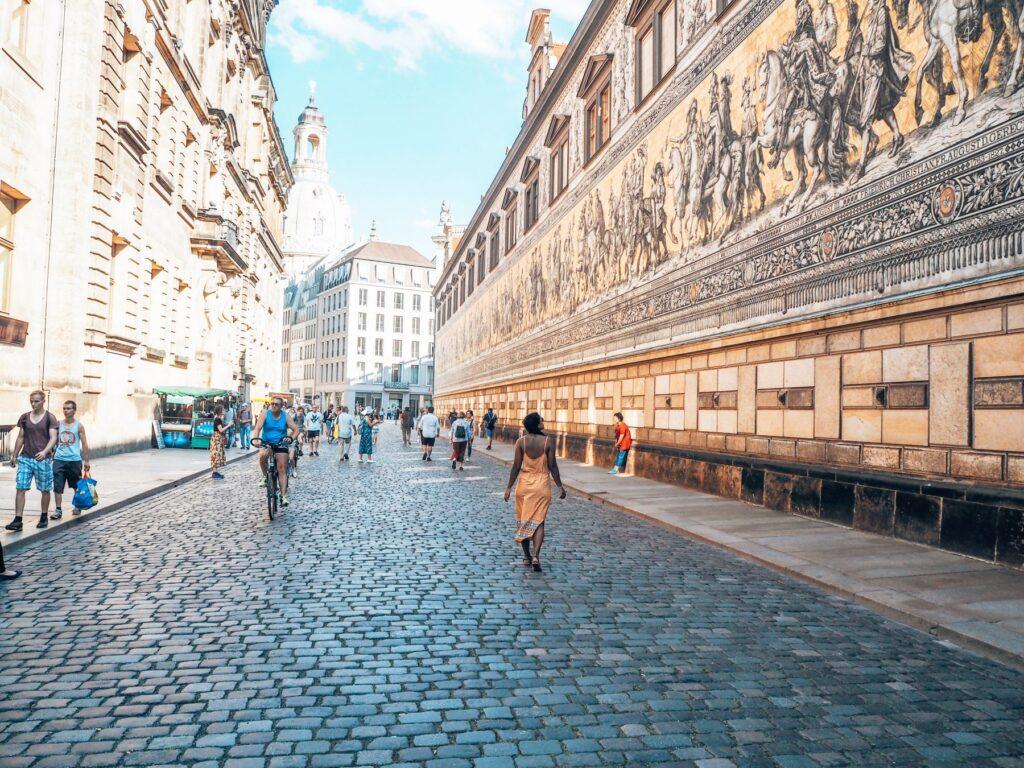 Dresden wall