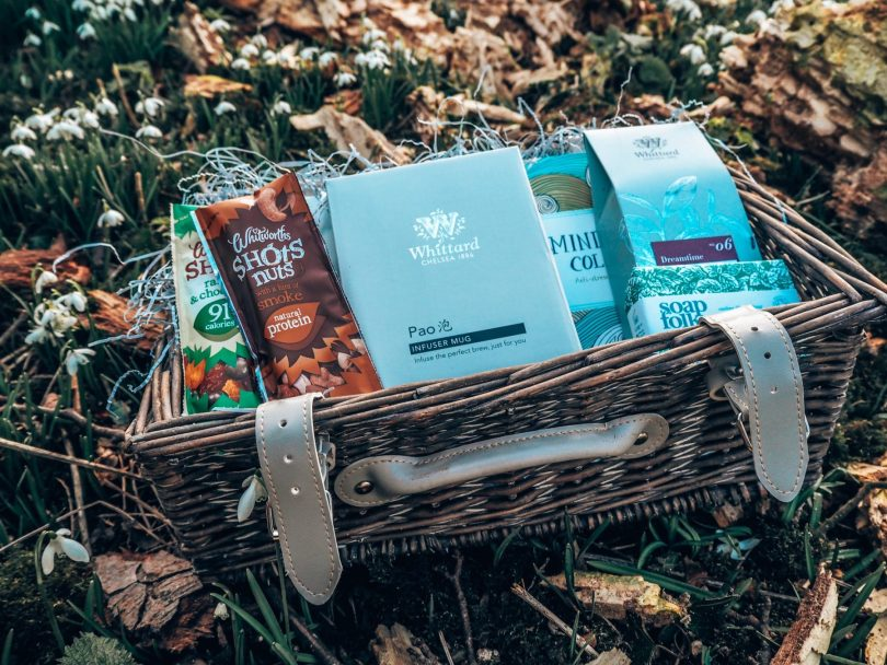 Wellbeing hamper Whittards