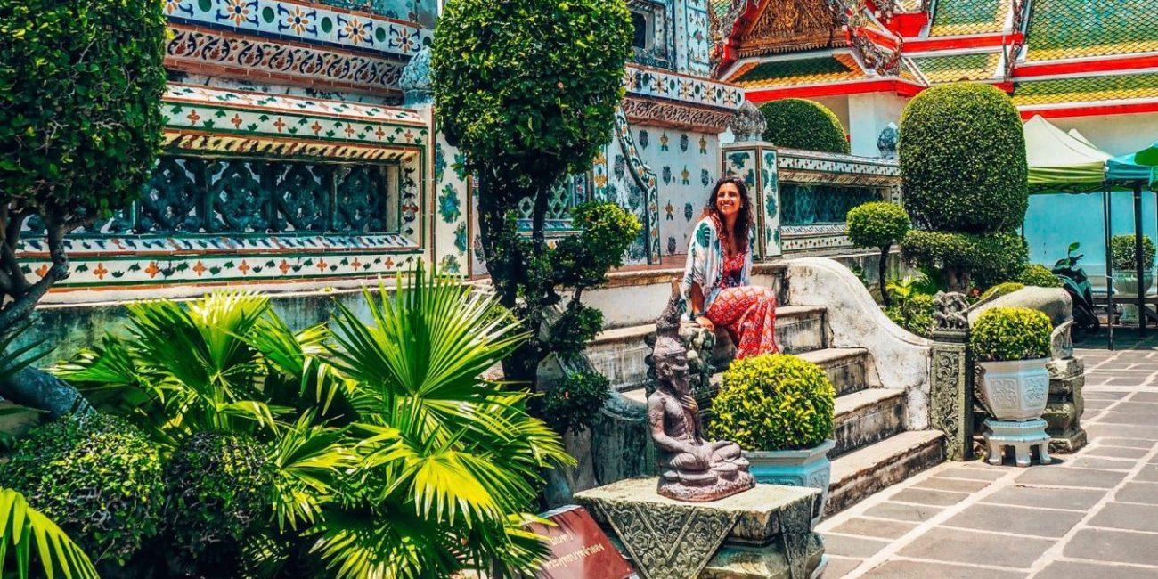 Temple views, Bangkok, Thailand 2019