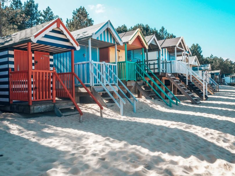 Well beachfront and beachhuts, Norfolk