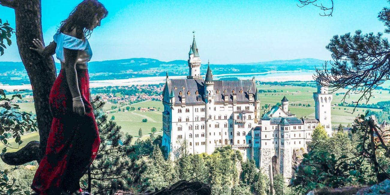 Neuschwanstein castle, Bavaria, Southern Germany