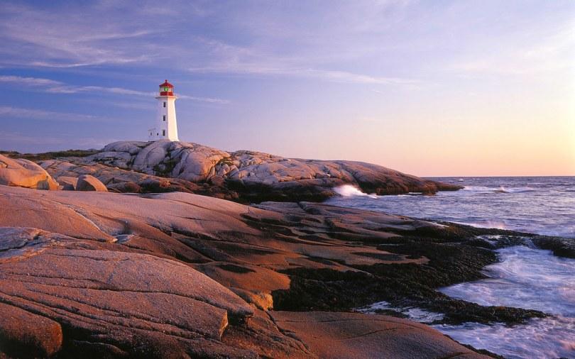 Peggys Point Lighthouse, Nova Scotia, fly drive Canada holidays, by miquitos