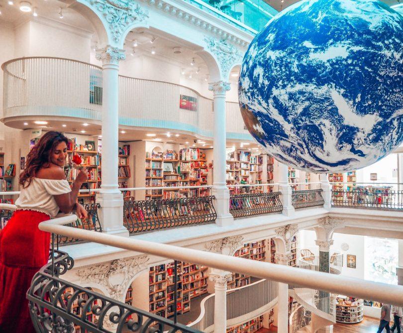 Carturesti Carusel bookshop in Bucharest, Romania