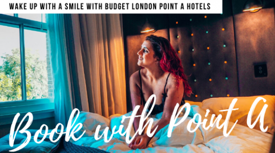 Point A hotels banner