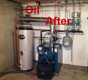 new high efficiency oil burner in North Andover, MA