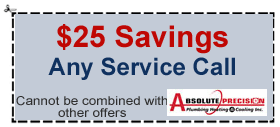 $25 coupon-any service call