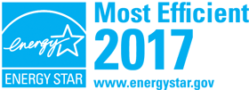 ENERGYSTAR most efficient 2017 banner