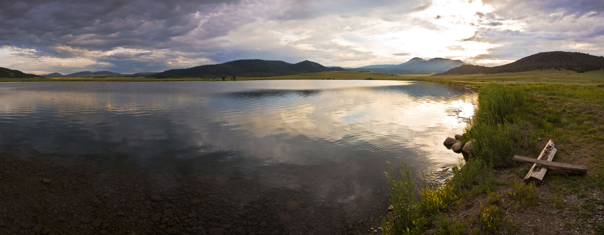 Image of the Colorado Front Range in Denver