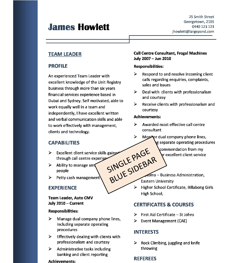 Teenage Resume Templates. Teenage Resumes First Job Resume