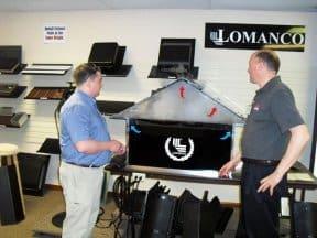 LOMANCO Ventilation factory in Jacksonville, Arkansas