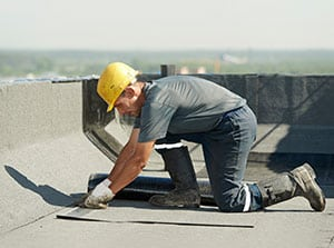 Repairing Commercial Flat Roof