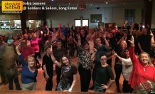 Photo of our salsa class at Soldiers & Sailors, Long Eaton