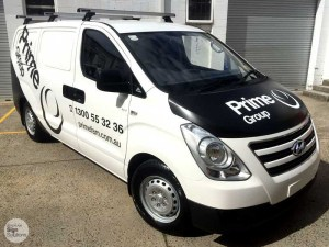 vehicle signage for tradies