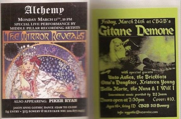 9fff06b0c80a NYC Goth Scene from 1990 to 2000 ~ a report on a decade of darkwave ...