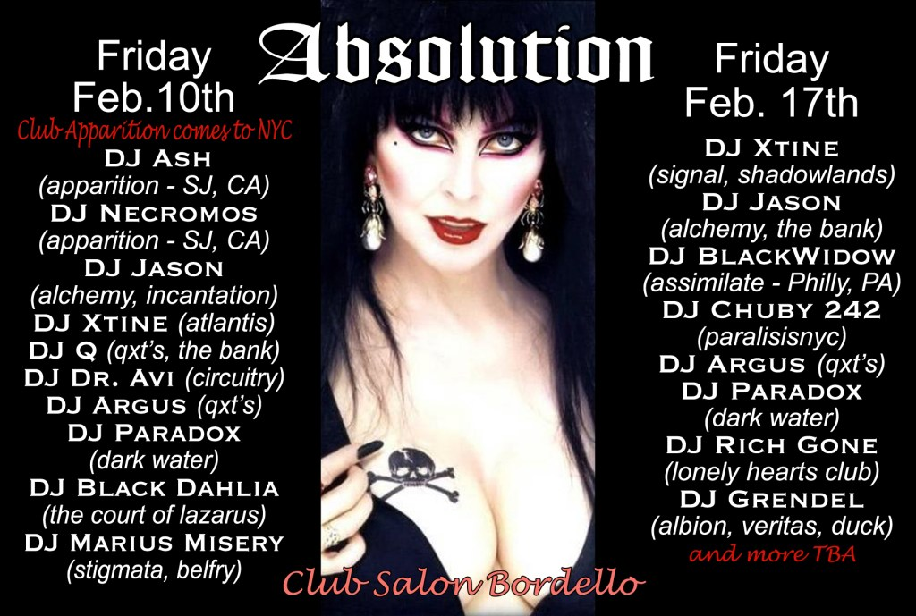 Absolution-NYC-Goth-Club-Flyer-Multi-DJ-Night-Event