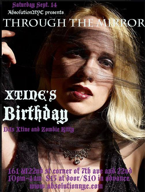 Absolution-NYC-Goth-Club-Event-Flyer-ThroughTheMirror-Xtine-Birthday2013