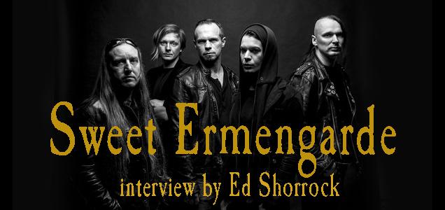Sweet Ermengarde interview banner Ed Shorrock
