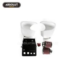 air box kit tapas laterales filtros kn triumph bonneville 01