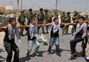 Palestinian children dancing Dabke in the face of oppression.