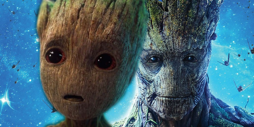 Original Groot Is Dead; Baby Groot is A Different Character