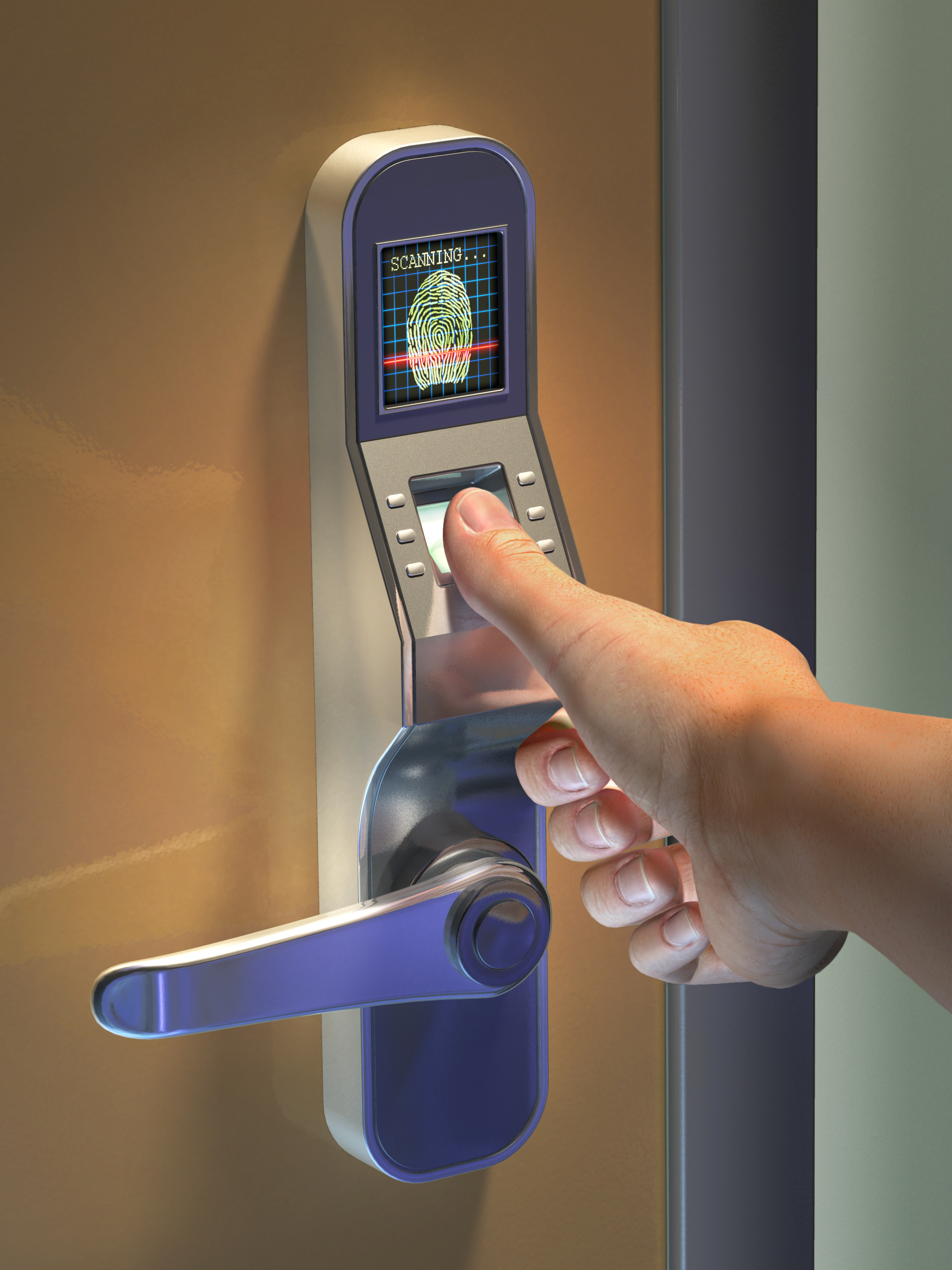 Retinal Scanner Door Lock Access Control Systems Absolute Protective Systems