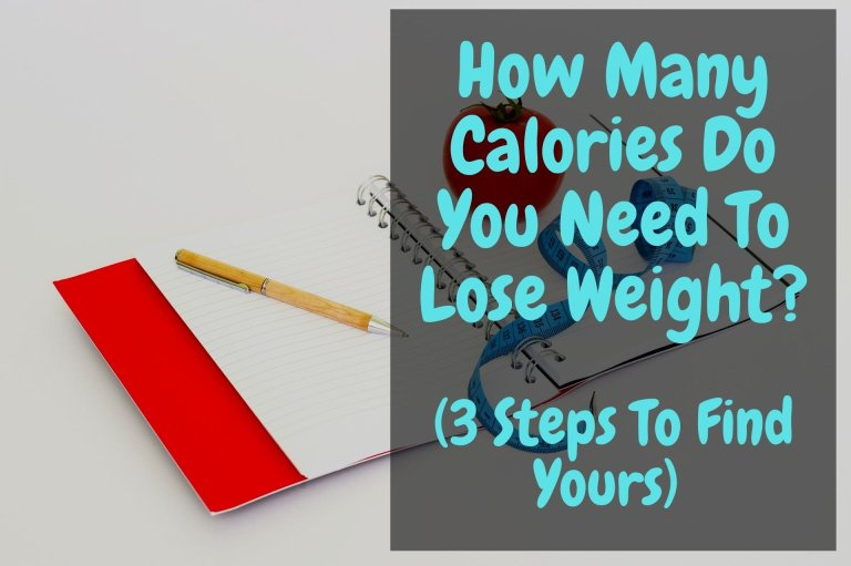 How Many Calories Do You Need To Lose Weight (3 Steps To Find Yours)