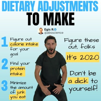 this is the picture of the fifth core principle (You Can't Out-train The Fork) of how to create a workout plan