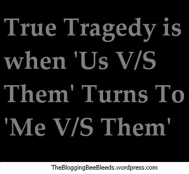 Us versus Them
