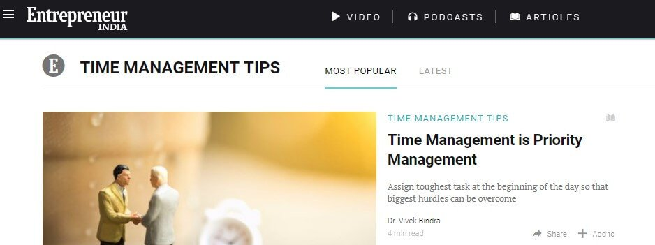 Need to better manage your time? Follow these blogs for time management tips