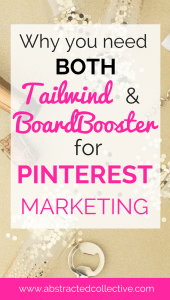 Boardbooster vs tailwind features. Use them both as part of your Pinterest marketing strategy. How to use tailwind and boardbooster to boost your blog traffic and Pinterest traffic!