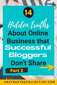 How to make money online & blogging tips - secrets that successful bloggers don't share with you (Part 3)