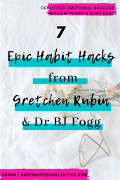 Learn good habits from experts like Gretchen Rubin and Dr BJ Fogg. Transform your routines and your life!