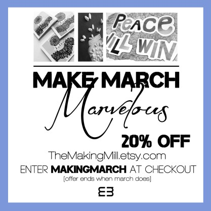 making march marvelous