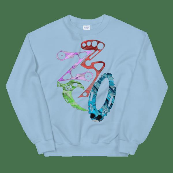 unisex crew neck sweatshirt light blue 5fef1c7ba9d51