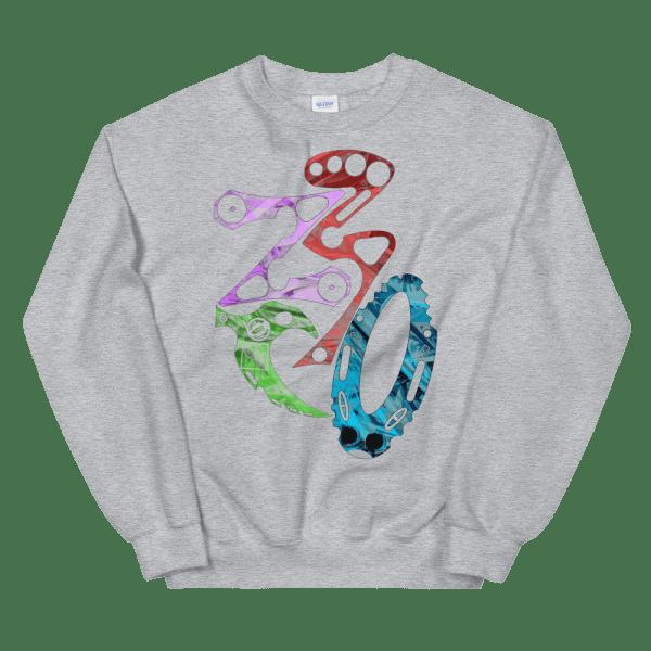 unisex crew neck sweatshirt sport grey 5fef1c7bad2d5