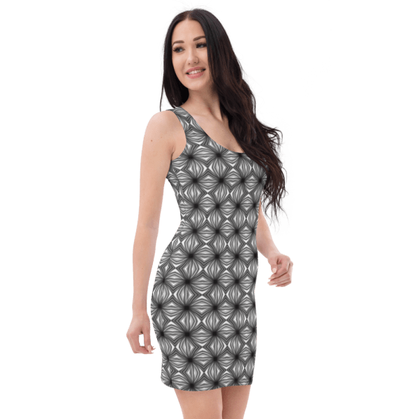 all over print dress white right front 61038b933fd59