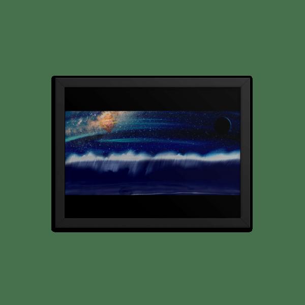 enhanced matte paper framed poster in black 12x16 transparent 61148a6bdadb5