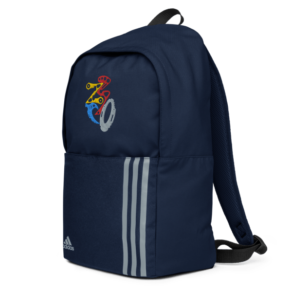 adidas backpack collegiate navy left front 61612094a5b80