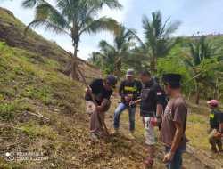 Siaga Bencana Alam, Aktivis Lingkungan di Bolmut Terus Lakukan Penghijauan