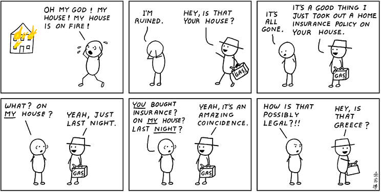 Abstruse Goose: Trading CDS