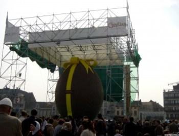 L'uovo di pasqua più grande del mondo