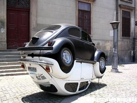 Scultura Volkswagen