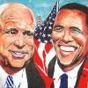 Pricasso - Omaggio a Obama e Mc Cain