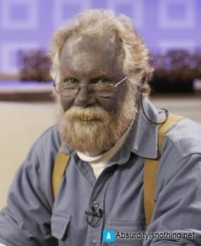 Paul Karason, l'uomo Blu