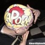 Phillip levine - L'artista che usa la testa come una tela da disegno