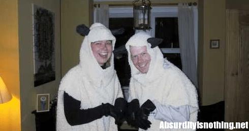 Evadono dal carcere vestiti da pecore